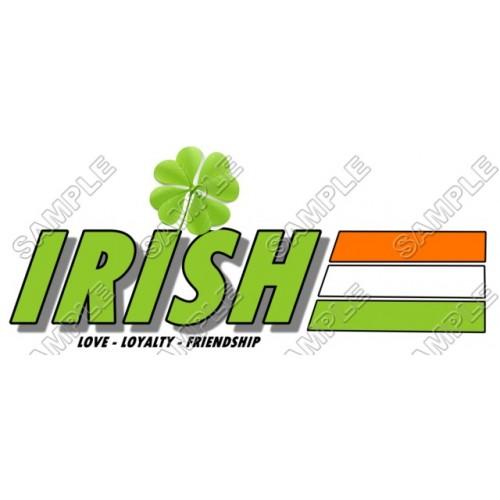 Saint Patrick s ~ Irish~ T Shirt Iron on Transfer Decal #2 by www.shopironons.com