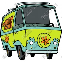 Scooby - Doo Mystery Machine T Shirt Iron on Transfer Decal #12