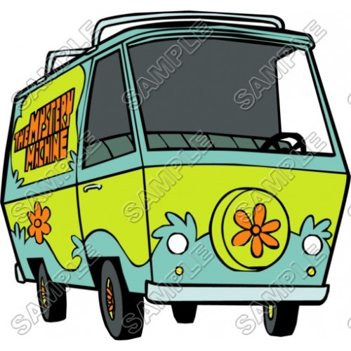 Scooby - Doo Mystery Machine T Shirt Iron on Transfer Decal #12 by www.shopironons.com