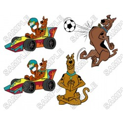 Scooby-Doo T Shirt Iron on Transfer Decal #11
