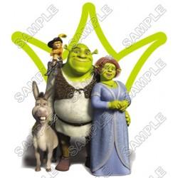 Shrek T Shirt Iron on Transfer Decal #2