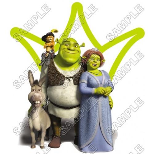 Shrek T Shirt Iron on Transfer Decal #2 by www.shopironons.com