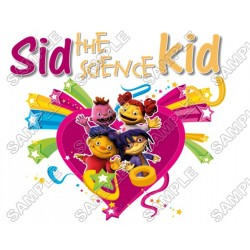 Sid the Science Kid T Shirt Iron on Transfer Decal #4