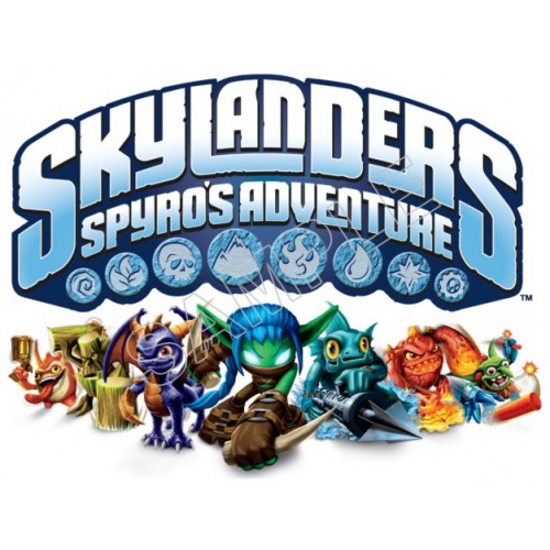 Skylanders Game T Shirt Iron on Transfer Decal #2 by www.shopironons.com