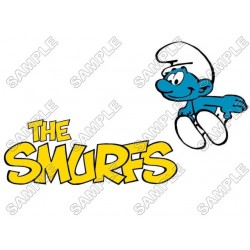 Smurf T Shirt Iron on Transfer Decal #15