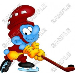 Smurf T Shirt Iron on Transfer Decal #6