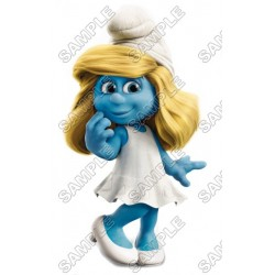 Smurfette T Shirt Iron on Transfer Decal #18