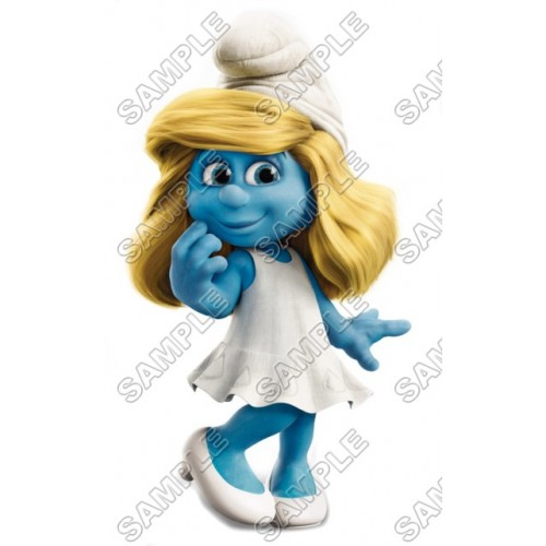 Smurfette T Shirt Iron on Transfer Decal #18 by www.shopironons.com