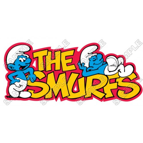 Smurfs T Shirt Iron on Transfer Decal #30 by www.shopironons.com