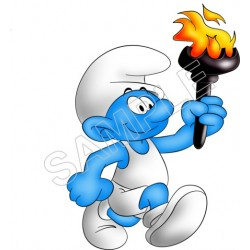 Smurfs T Shirt Iron on Transfer Decal #42