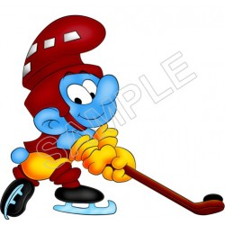 Smurfs T Shirt Iron on Transfer Decal #46