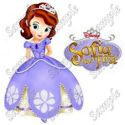 Sofia Princess T Shirt Iron on Transfer Decal #1
