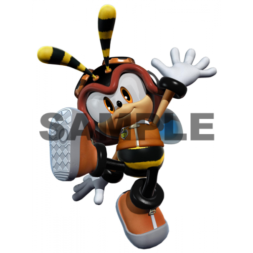 Sonic Charmy T Shirt Iron on Transfer Decal #40 by www.shopironons.com