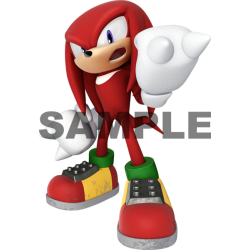 Sonic Knuckles T Shirt Iron on Transfer Decal #33