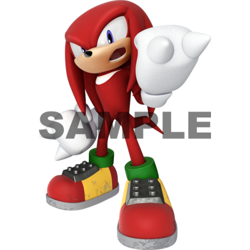 Sonic Knuckles T Shirt Iron on Transfer Decal #33 by www.shopironons.com