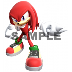 Sonic Knuckles T Shirt Iron on Transfer Decal #34