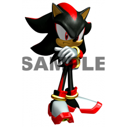 Sonic Shadow T Shirt Iron on Transfer Decal #16