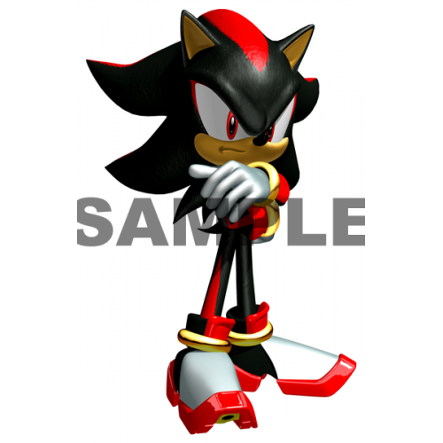Sonic Shadow T Shirt Iron on Transfer Decal #16 by www.shopironons.com