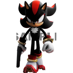 Sonic Shadow T Shirt Iron on Transfer Decal #9