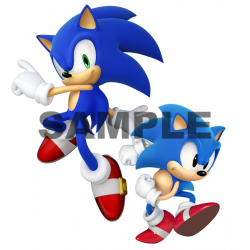 Sonic T Shirt Iron on Transfer Decal #3