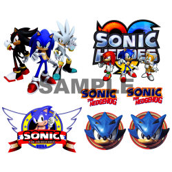 Sonic T Shirt Iron on Transfer Decal #44