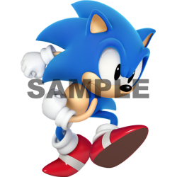 Sonic T Shirt Iron on Transfer Decal #5