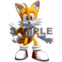 Sonic Tails T Shirt Iron on Transfer Decal #10