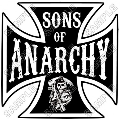 Sons of Anarchy T Shirt Iron on Transfer Decal #1 by www.shopironons.com