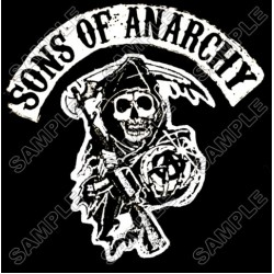 Sons of Anarchy T Shirt Iron on Transfer Decal #2