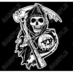 Sons of Anarchy T Shirt Iron on Transfer Decal #3
