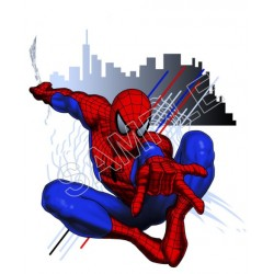 Spider Man T Shirt Iron on Transfer Decal #11