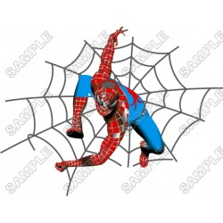 Spider-Man T Shirt Iron on Transfer Decal #4