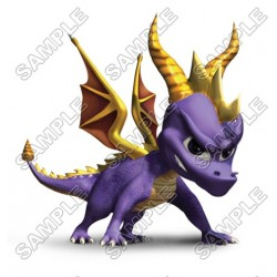 Spyro the Dragon T Shirt Iron on Transfer Decal #1