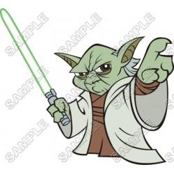 Star Wars Master Yoda T Shirt Iron on Transfer Decal #10