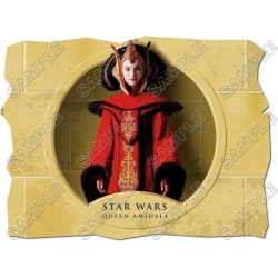 Star Wars Queen Amidala T Shirt Iron on Transfer Decal #28