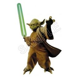 Star Wars Yoda T Shirt Iron on Transfer Decal #10