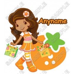 Strawberry Shortcake Orange Blossom Personalized Custom T Shirt Iron on Transfer Decal #34
