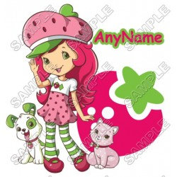 Strawberry Shortcake Personalized Custom T Shirt Iron on Transfer Decal #32