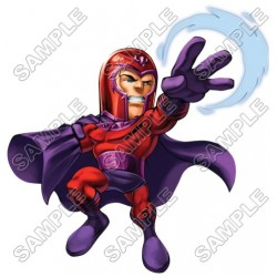 Super Hero Squad Magneto T Shirt Iron on Transfer Decal #11