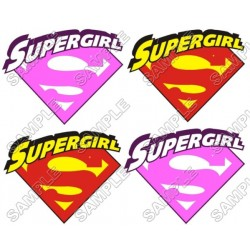 SuperGirl T Shirt Iron on Transfer Decal #1