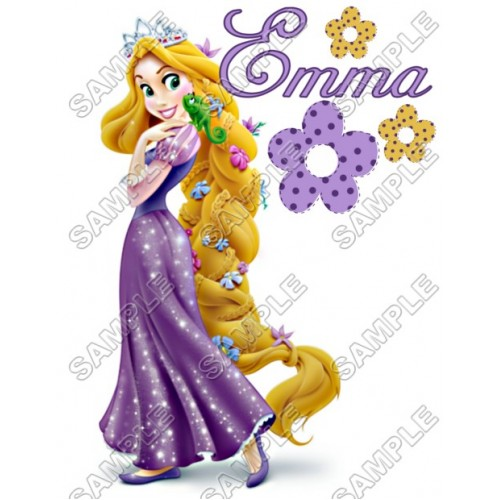 Tangled Rapunzel Birthday Personalized Custom T Shirt Iron On Transfer Decal 18 By