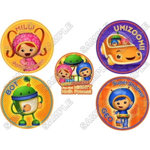 Team Umizoomi T Shirt Iron on Transfer Decal #1 by www.shopironons.com
