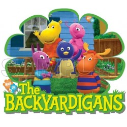 The Backyardigans T Shirt Iron on Transfer Decal #14