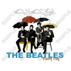 The Beatles Rainy Day T Shirt Iron on Transfer Decal #4