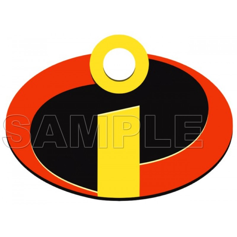 photograph regarding Incredibles Logo Printable known as The Incredibles Brand T Blouse Iron upon Shift Decal #8