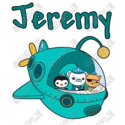 The Octonauts Personalized Custom T Shirt Iron on Transfer Decal #37