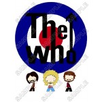 The Who (Band) T Shirt Iron on Transfer Decal #1 by www.shopironons.com