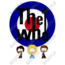 The Who (Band) T Shirt Iron on Transfer Decal #1