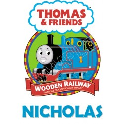 Thomas the Train Personalized Custom T Shirt Iron on Transfer Decal #63