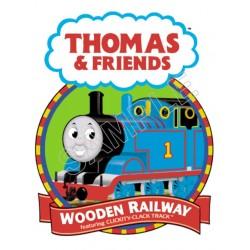 Thomas the Train T Shirt Iron on Transfer Decal #17